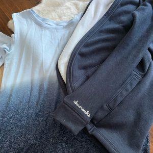 NWT Abercrombie long sleeve and jacket